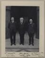 William Adamson; Keir Hardie; Thomas Richardson, by Benjamin Stone - NPG x137724