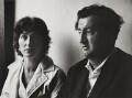 Brendan Behan and Beatrice Behan (née Ffrench-Salkeld), by Michael Peto - NPG x137671