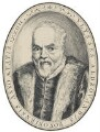 Ulisse Aldrovandi, by Sebastian Evans, after  Unknown engraver - NPG 2173(18)