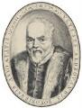 Ulisse Aldrovandi, by Sebastian Evans, after  Unknown engraver - NPG 2173(18)