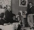 Betty Hicks; Godfrey Herbert Winn; Tommy Steele, by George Douglas - NPG x137784