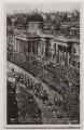 'Their Majesties Silver Jubilee 1910-1935. Royal Procession passing the National Gallery', by Unknown photographer - NPG x137832