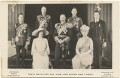 'Their Majesties the King and Queen and Family', by H.R. Wicks, for  Bassano Ltd, published by  J.J. Samuels Ltd - NPG x137833