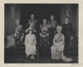 King George V with his family, by H.R. Wicks, for  Bassano Ltd - NPG x137834