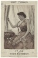 Lillie Langtry, printed by M & N Hanhart, published by  W. Morley & Co, after  Henry Van der Weyde - NPG D42798