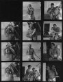 Sir Harry Donald Secombe; Myra Joan (née Atherton), Lady Secombe; David Secombe, by Francis Goodman - NPG x195577
