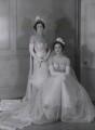 Emily Gladys Walpole (née Oakes), Countess of Orford; Lady Anne Sophia Berry (née Walpole), by Bassano Ltd - NPG x137842