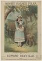 Minnie Palmer, printed by Stannard & Son, published by  V. & A. Dobrowolski, after  Samuel Alexander Walker - NPG D42802