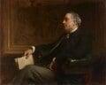Sir William Agnew, 1st Bt, by Francis Montague ('Frank') Holl - NPG 6991