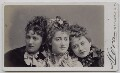 Jessie Catherine Biddulph Vokes; Victoria Rosaline Sarah Vokes; (Theodocia) Rosina Vokes, by Jose Maria Mora - NPG x137952