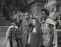 Claude Rains; Cecil Parker, Vivien Leigh and Stewart Granger in 'Caesar and Cleopatra', by Wilfrid Newton - NPG x137969