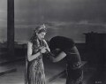 Vivien Leigh as Cleopatra and Flora Robson as Ftatateeta in 'Caesar and Cleopatra', by Wilfrid Newton - NPG x137972