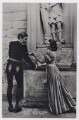 Laurence Olivier as Hamlet and Vivien Leigh as Ophelia in 'Hamlet', by Unknown photographer - NPG x137984