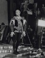 Laurence Olivier as Hamlet on the set of 'Hamlet', by Unknown photographer - NPG x137993