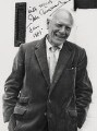 (Thomas) Malcolm Muggeridge, by Godfrey Argent - NPG x21433