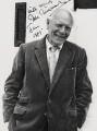 (Thomas) Malcolm Muggeridge, by Godfrey Argent - NPG x21433