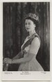 Queen Elizabeth II, by Baron (Sterling Henry Nahum), published by  The Photochrom Co Ltd - NPG x138018