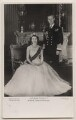 Queen Elizabeth II; Prince Philip, Duke of Edinburgh, by Baron (Sterling Henry Nahum), published by  The Photochrom Co Ltd - NPG x138024