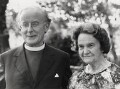 Frederick Donald Coggan, Baron Coggan; Jean (née Strain), Lady Coggan, by Press Association Photos - NPG x184331