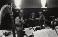 Benjamin Britten; Sir Peter Neville Luard Pears; William Bundy, by Michael Peto - NPG x138055
