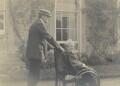 (Lloyd) Logan Pearsall Smith; Hannah Smith (née Whitall) (Mrs Pearsall Smith), by Lady Ottoline Morrell - NPG Ax160735