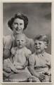 Queen Elizabeth II; Princess Anne; Prince Charles, by Marcus Adams - NPG x138089