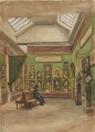 A Bay in the Upper Long Gallery at South Kensington, by Sir George Scharf - NPG 2747a