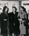 Violetta Elvin (née Prokhorova); Ninette de Valois; Margot Fonteyn, by Keystone Press Agency Ltd - NPG x184371