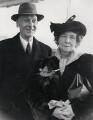 Sir Jack Hobbs; Ada Ellen (née Gates), Lady Hobbs, by Central Press - NPG x182319