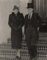 Natalie Antoinette Hogg (née Sullivan); Quintin McGarel Hogg, 1st Baron Hailsham of St Marylebone, by Planet News - NPG x182321