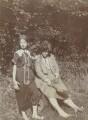 Julia Frances Strachey; Ray Strachey, by Unknown photographer - NPG Ax160816