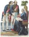 Benjamin Disraeli, Earl of Beaconsfield; Robert Arthur Talbot Gascoyne-Cecil, 3rd Marquess of Salisbury; Queen Victoria, after Unknown artist - NPG D42972