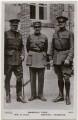 Douglas Haig, 1st Earl Haig; Ferdinand Foch; John Joseph Pershing, by J. Beagles & Co - NPG x138130