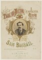 Sam Bagnall, by C. or G. Taylor, printed by  L'Enfant & White, published by  Henri D'Alcorn - NPG D42810