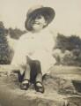 Barbara Strachey (Hultin, later Halpern), by Unknown photographer - NPG Ax160838