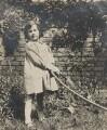 Barbara Strachey (Hultin, later Halpern), by Unknown photographer - NPG Ax160845