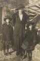 Barbara Strachey (Hultin, later Halpern); Miss Prynne; Ursula Margaret Wentzel (née Strachey), by Unknown photographer - NPG Ax160852