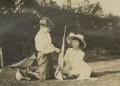 Dermod MacCarthy; Barbara Strachey (Hultin, later Halpern), by Unknown photographer - NPG Ax160857