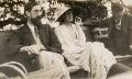 Lytton Strachey; Virginia Woolf; Goldsworthy Lowes Dickinson, by Lady Ottoline Morrell - NPG x141313