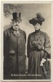 Arthur Bourchier; Violet Vanbrugh (Violet Augusta Mary Barnes), by Bassano Ltd, published by  The Rotophot Postcard - NPG x193630