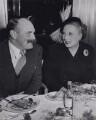 Jimmy Edwards; Dame Barbara Hamilton Cartland, by (Edward) Russell Westwood - NPG x194061