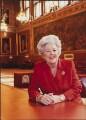 Betty Boothroyd, Baroness Boothroyd, by Anita Corbin - NPG x138153