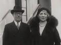 Joseph Joel Duveen, Baron Duveen; Elsie (née Salomon), Lady Duveen, by ACME Newspictures, Inc. - NPG x194080