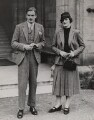 (Robert) Anthony Eden, 1st Earl of Avon; Beatrice Helen Eden (née Beckett), by Fox Photos Ltd - NPG x194082