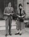 (Robert) Anthony Eden, 1st Earl of Avon; Beatrice Helen Eden (née Beckett), by Fox Photos Ltd - NPG x194082