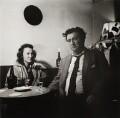 Beatrice Behan (née Ffrench-Salkeld); Brendan Behan, by Ida Kar - NPG x138226