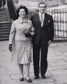 Edna May (née Edmunds), Lady Healey; Denis Winston Healey, Baron Healey, by Keystone Press Agency Ltd - NPG x194100