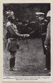 Herbert Kitchener, 1st Earl Kitchener greets an Indian soldier, by James Russell & Sons, for  J. Beagles & Co - NPG x194115