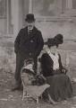 Lady Megan Arfon Lloyd George; David Lloyd George; Dame Margaret Lloyd George (née Owen), by Unknown photographer - NPG x194124