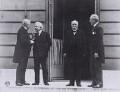 Council of Four, Paris Peace Conference, by Unknown photographer - NPG x194125